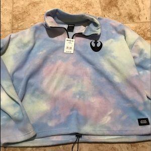Star Wars tie dye pullover top